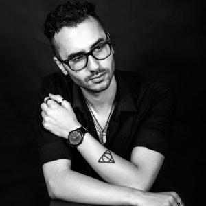 чернобяла фотография портрет black and white photography
